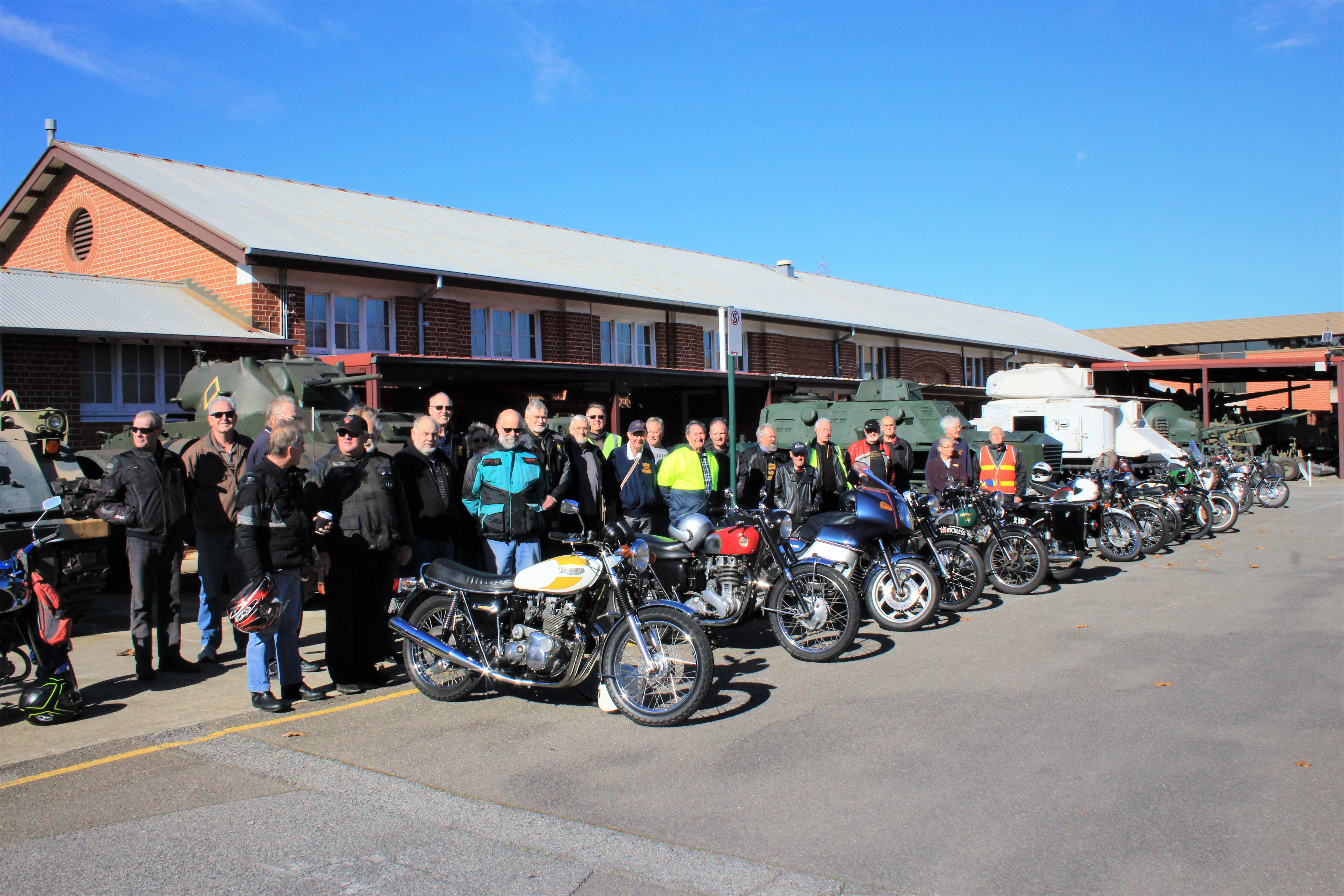 Veteran and Vintage Motor Cycle Club of South Australia